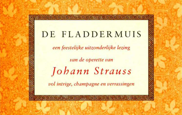 De Fladdermuis <br> librettolezing #2